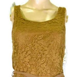 xxi Brown Dress. NWT.  M